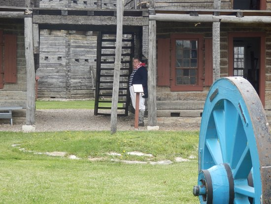 Old Fort Madison: Franz at his Guard Post