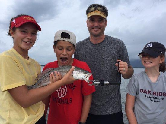 Port Royal, SC: trout
