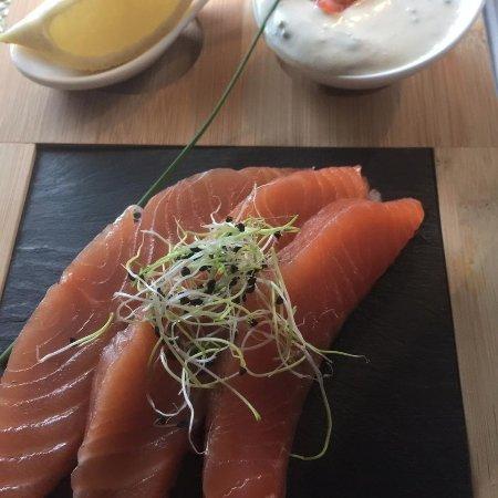 Fonsorbes, Fransa: Saumon gravlax