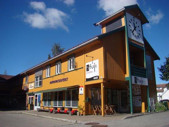 Jessheim, Norway: Building