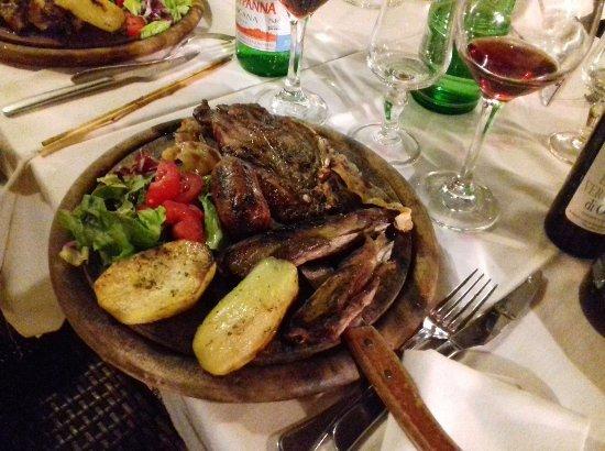 Manziana, Italia: Grigliata mista