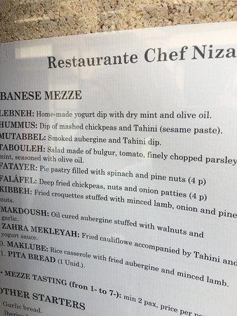 Chef Nizar Photo