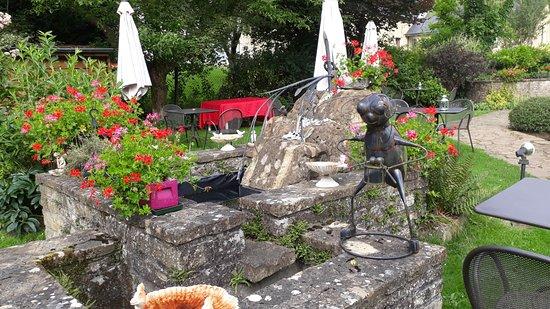 Sainte-Cecile, Belgium: jardin