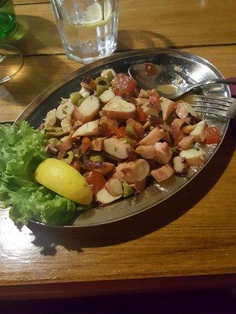 insalata di polipo