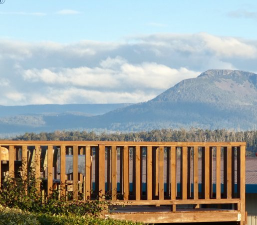 Deloraine, Australia: The views which gives the motel its name