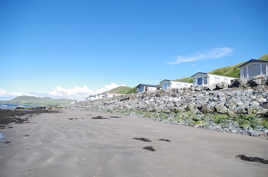 Bennane Shore Holiday Park: One of our lovely private beaches