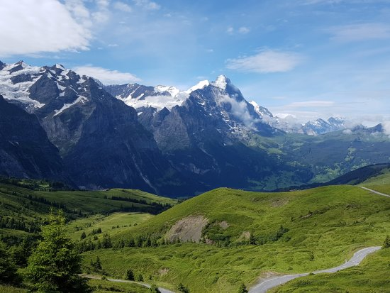Grindelwald, Svizzera: Start an der großen Scheidegg