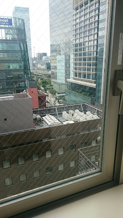 Hotel Ryumeikan Tokyo: 部屋から見た東京駅