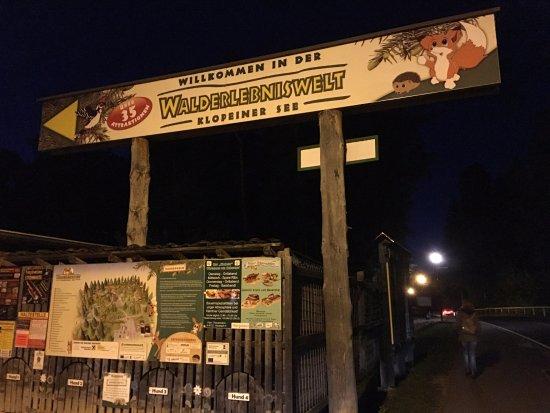 Freizeitanlagen Walderlebniswelt Klopeinersee GmbH: L'ingresso del parco giochi