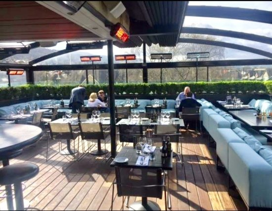 Rooftop bar restaurant picture of piccolino ilkley for Piccolino hotel decor