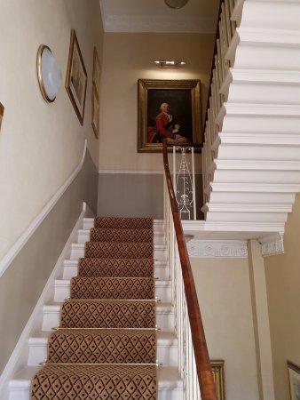 Dukes Hotel: Treppe