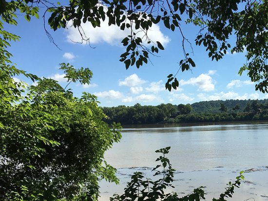 Rising Sun, IN: Ohio river after storm