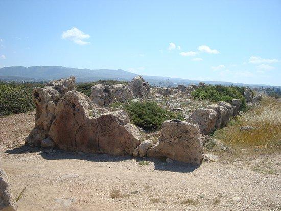 Maa-Palaeokastro Settlement: Остатки фортификационной стены