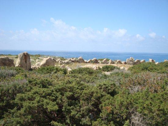 Maa-Palaeokastro Settlement: Видимо, тоже бывщая защитная стена