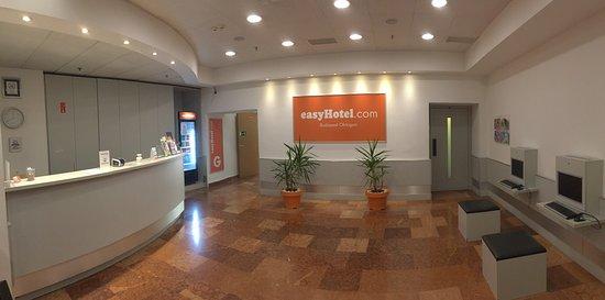 easyHotel Budapest Oktogon: recepció