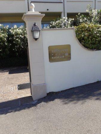 Villa Rosa Hotel : ingresso dell'hotel