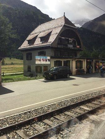 Stazione di Cavaglia - Val Poschiavo
