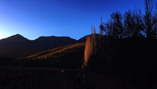 Boesmanskop : Sunset from the guest farm