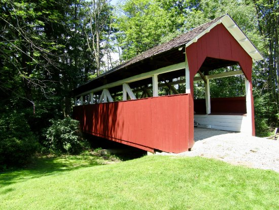 Somerset Historical Center: Walters Mill Covered Bridge