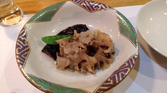Yuyado Iwafuji: One of the dishes in dinner