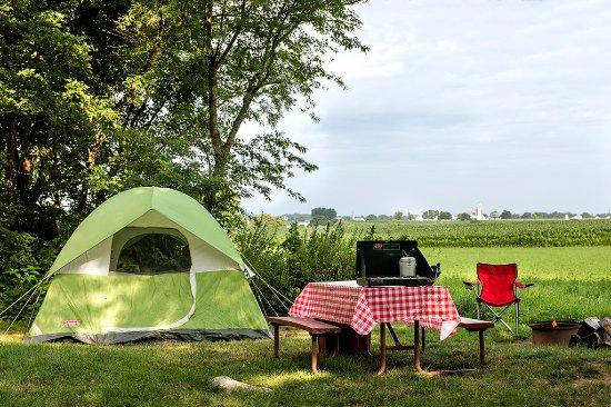 Gordonville, PA: Primitive Tent Site