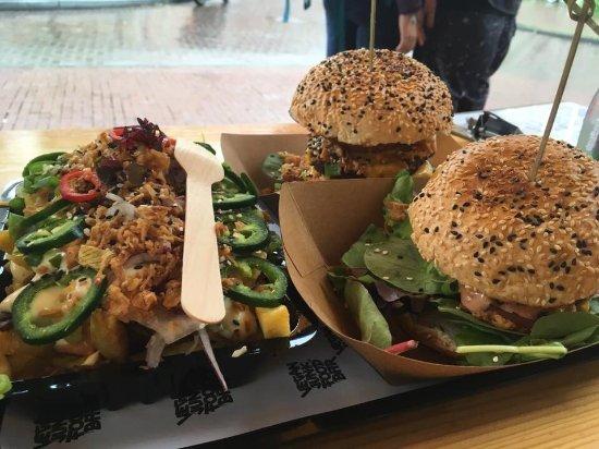 Vegan Junk Food Bar Photo
