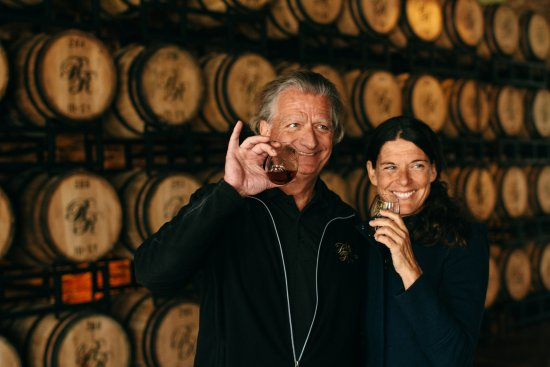 Richland Rum proprietors Erik and Karin Vonk