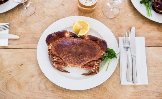 The Griffin Inn: Brown Crab