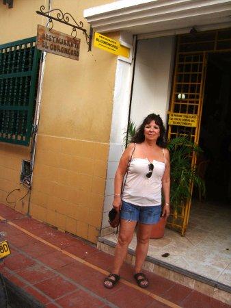 Restaurante Coroncoro: Frente