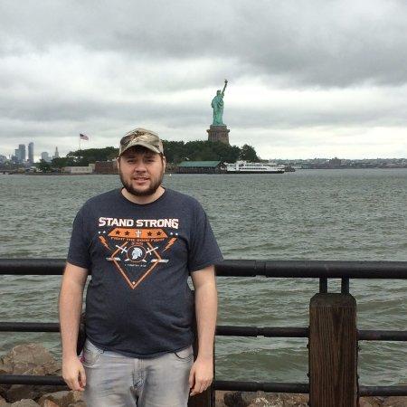 Liberty State Park: son providing a moment