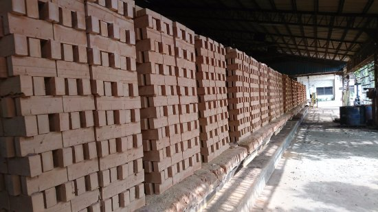 Miaoli, Tayvan: 磚塊成品