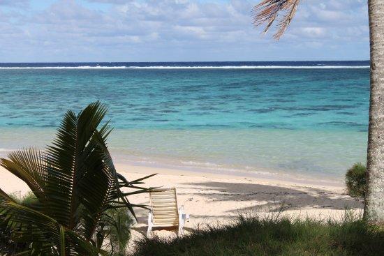 Vaimaanga, Cook Islands: Mi affaccio dalla Beach Villa e vedo ... il Paradiso