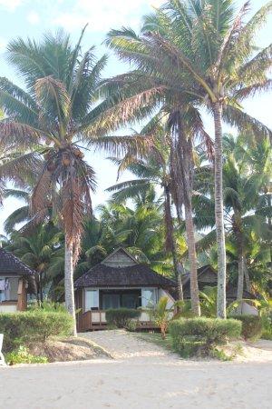 Vaimaanga, Îles Cook : Beach Villa ... sulla spiaggia