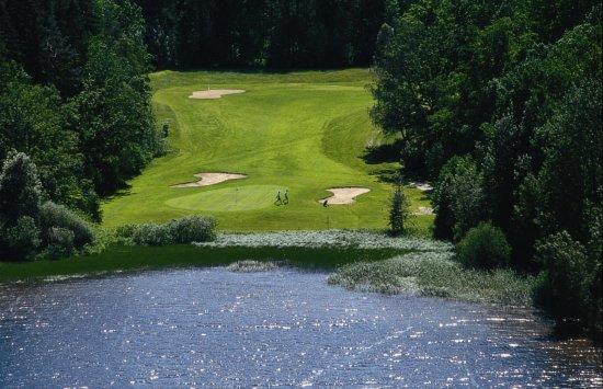 Ösmo, Sverige: Golfbana