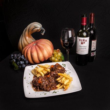 Restaurante Vina P : Rabo de Toro / Oxtail Stew