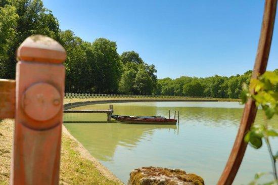Parc de la pagode de Chanteloup : Miroir d'Eau (Mohamed Boualam)