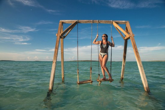 Coco Plum Beach Swings At