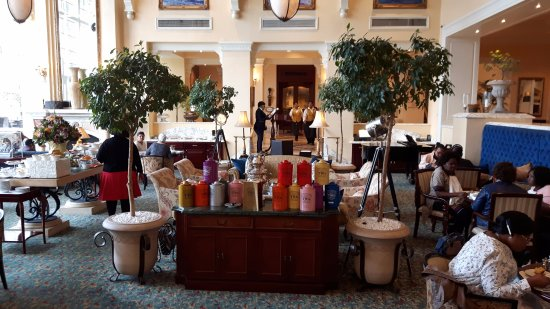 The Table Bay Hotel: Le salon de thé dans le loby