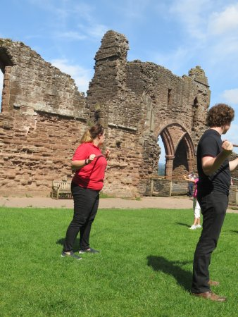 Goodrich, UK: Hands on History Team - AWESOME!!