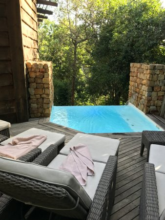 Harkerville, South Africa: Piscina privativa!