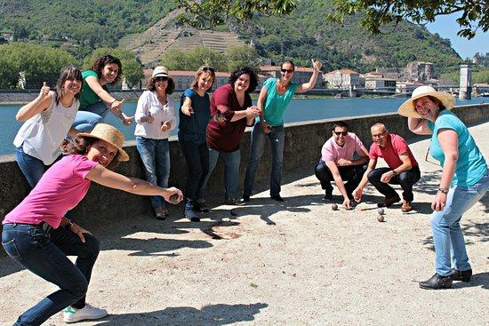 Saint-Donat-sur-l'Herbasse, France: L'équipe de l'office de tourisme
