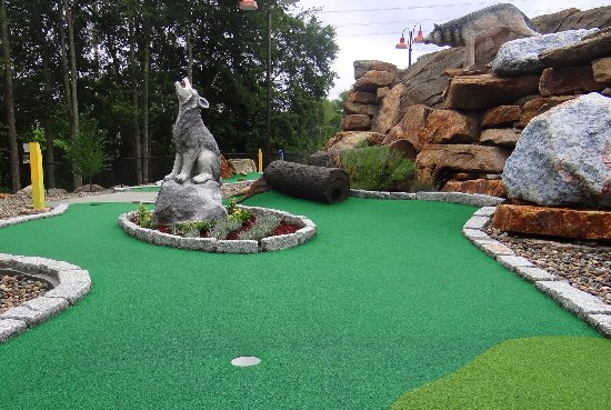 Copper Creek Mini Golf at Nature's Art Village