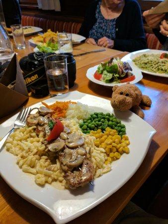 Schnepfau, Austria: My dinner