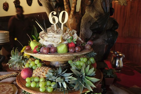 Game drive and lunch for 60th birthday celebration
