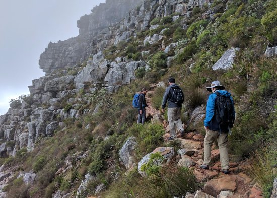 Hike Table Mountain: India Venster route