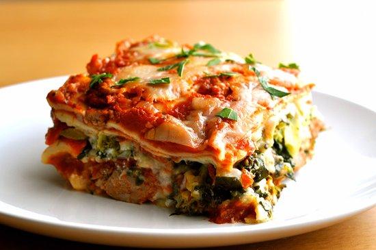 Spectacular Spinach Corn Lasagna!