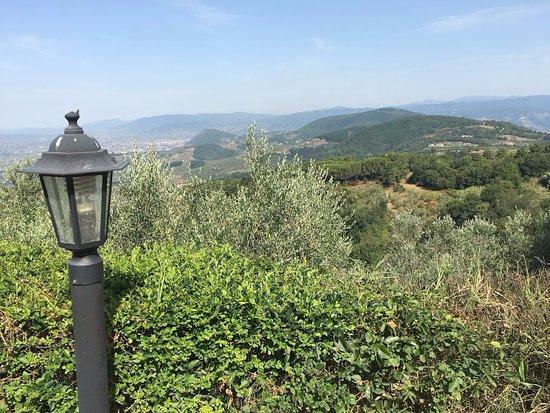Larciano, Italien: Vista dal podere Calistri