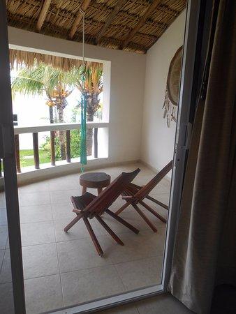 Hotel Puerto Holbox : terrasse