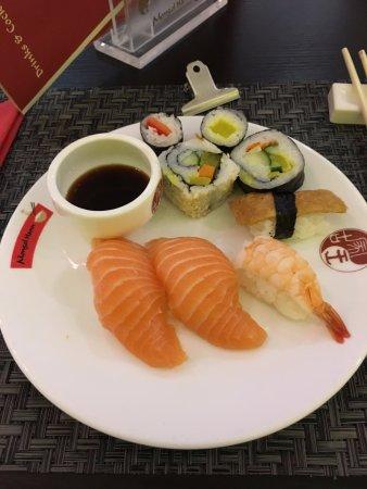 Kerpen, Germany: Selbst zusammengestelltes Sushi