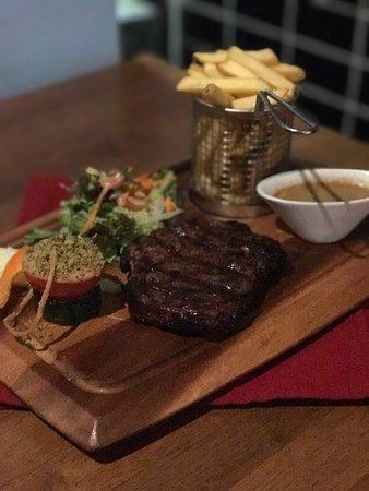 Ballydehob, Irlandia: Steak